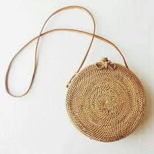 Boho Rattan Straw Women's Beach Bag