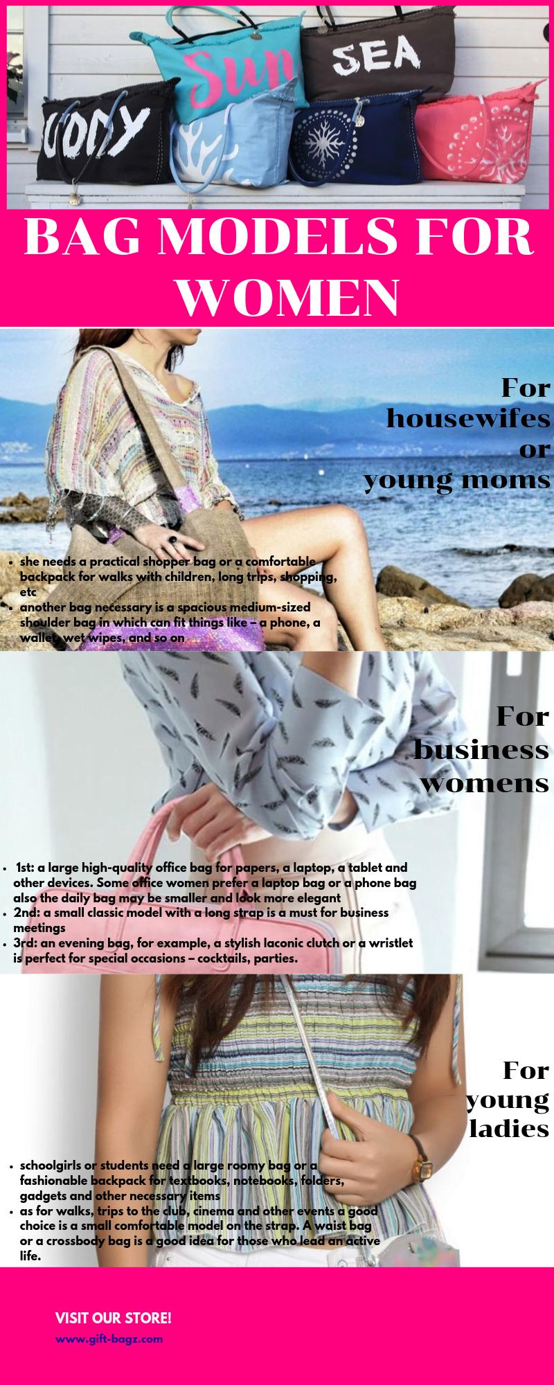 Bag models for women Infographic - Model Bags for Women   Handbag, Model, Bags, Images