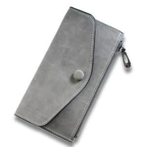 Women's Matte Leather Wallet