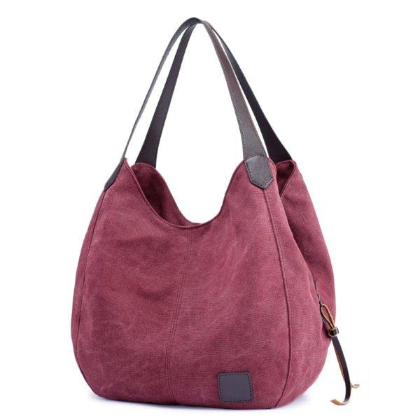 Women's Casual Canvas Hobos Bag