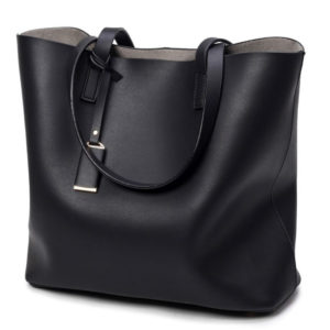 Fashion Casual Leather Women's Bucket Bag
