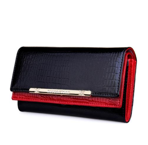 Luxurious Artificial Crocodile Leather Women's Wallet