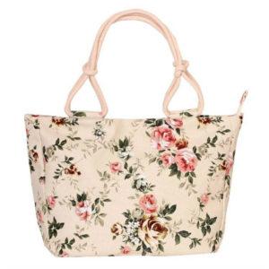 Women's Canvas Beach Bag