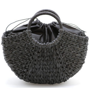 Beach Handmade Style Straw Handbag