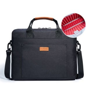 Spacious laptop bag