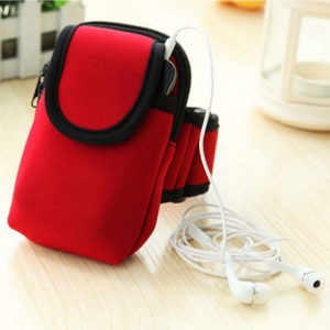 Sport Nylon Wrist Bag for Mobile Phone