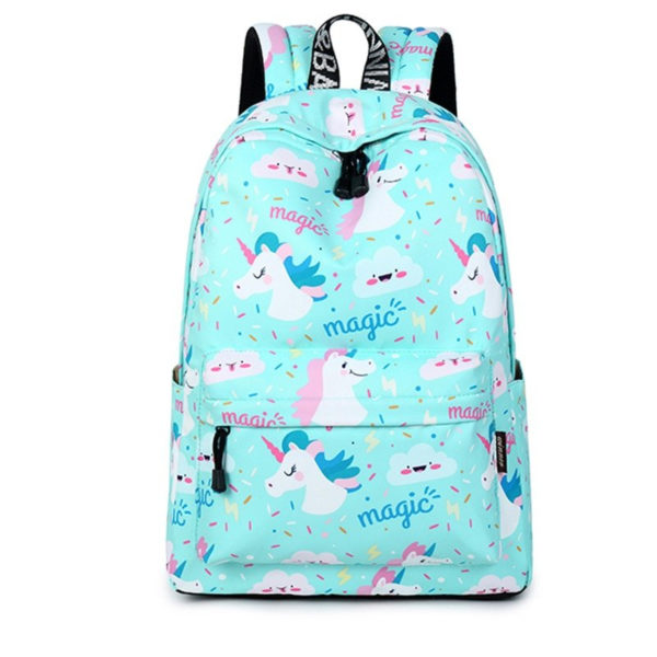 Women's Unicorn Printed Backpack