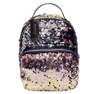 Women's Compact Sequins Decor Backpack