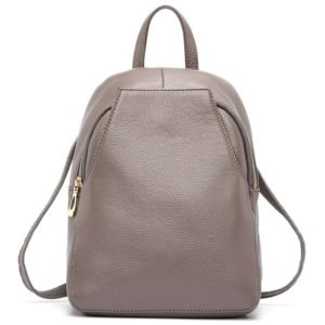 Fashionable Women's Genuine Leather Backpack