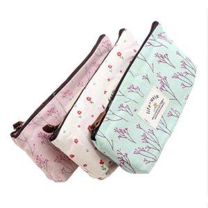 Cute Printed Cosmetic Bags